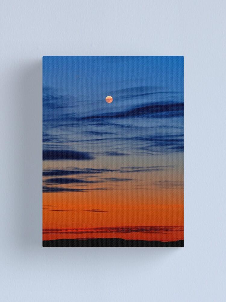 Alternate view of Moonrise Canvas Print