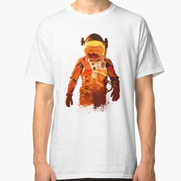 The Martian, Mars, Astronaut, Space, space travel, martian, cosmonaut Classic T-Shirt