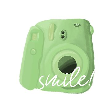 Green Polaroid by DesignsByEmma
