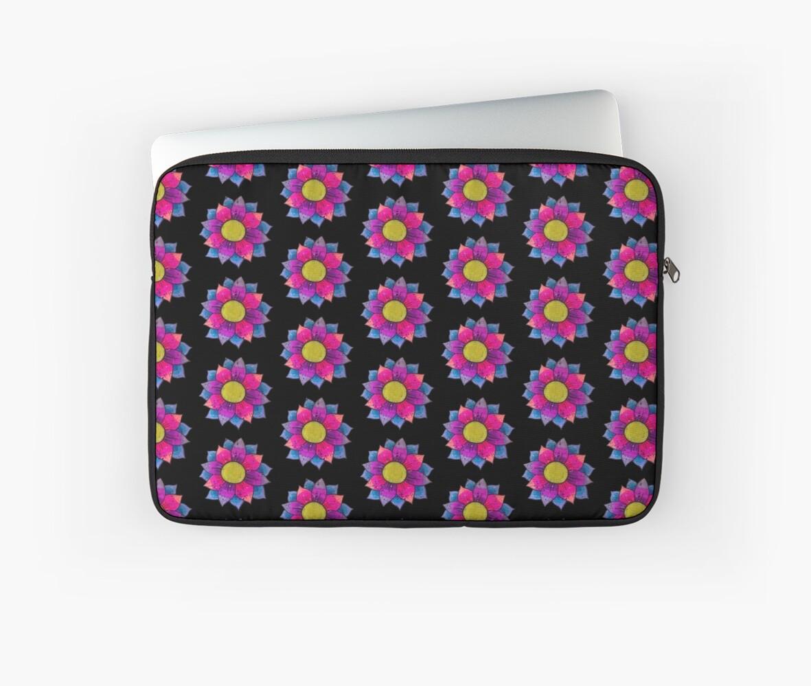 Lotus flower color bomb laptop sleeves by dommfresh redbubble lotus flower color bomb by dommfresh izmirmasajfo