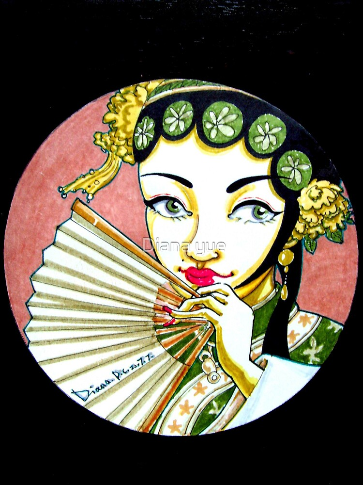 character of chinese opera----Duliniang by Diana yue