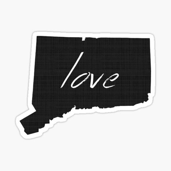 Love Connecticut Sticker