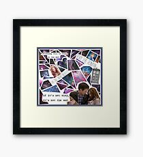 Amy and Rory Framed Print