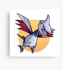 Skarmory Pokemon Canvas Print