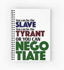 Slave Tyrant Negotiate (1) Spiral Notebook