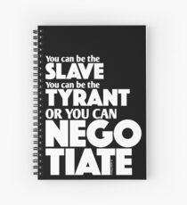 Slave Tyrant Negotiate (2) Spiral Notebook