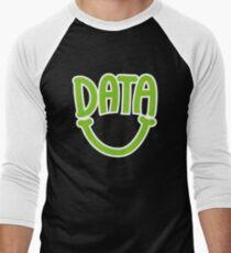 Data Happy Men's Baseball ¾ T-Shirt