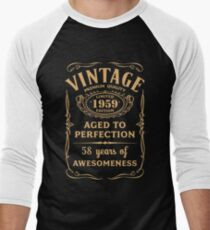 Golden Vintage Limited 1959 Edition - 58th Birthday Gift T-Shirt
