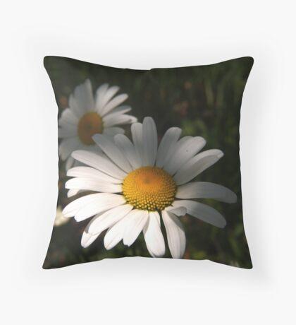 Daisys Throw Pillow