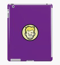 Barton business face iPad Case/Skin