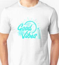 Cool summer beach - Good Vibes T-Shirt  Unisex T-Shirt