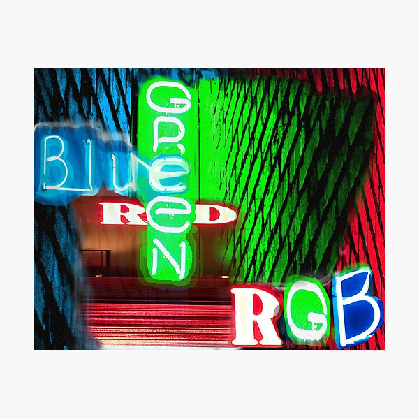 RGB Photographic Print