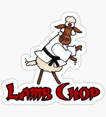 Lamb Chop Sticker