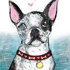 Boston Terrier by inkedinred