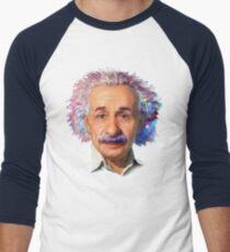 Albert Einstein - Galaxy Men's Baseball ¾ T-Shirt