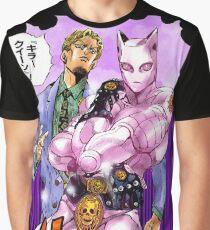 jojo yoshikage KIRA & KILLER QUEEN Graphic T-Shirt