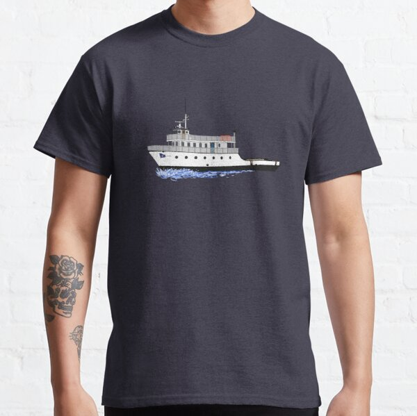 Block Island Ferry - the Manitou Classic T-Shirt
