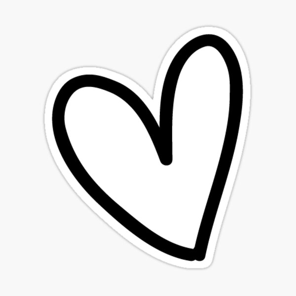 Heart Light Sticker