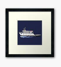 Block Island Ferry - the Manitou Framed Print