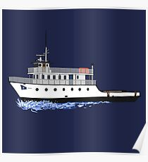 Block Island Ferry - the Manitou Poster