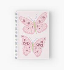Flower Butterfly Hardcover Journal