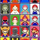 Minimal Mario by SaltySteveD