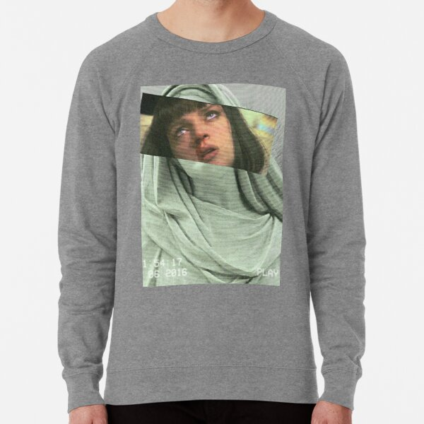 Aesthetic Pulp Fiction Lightweight Sweatshirt