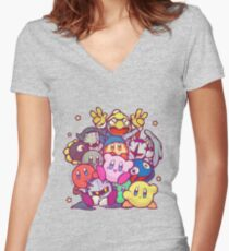 Kirby group Women's Fitted V-Neck T-Shirt