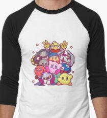 Kirby group Men's Baseball ¾ T-Shirt