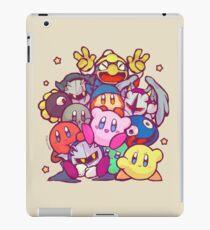Kirby group iPad Case/Skin