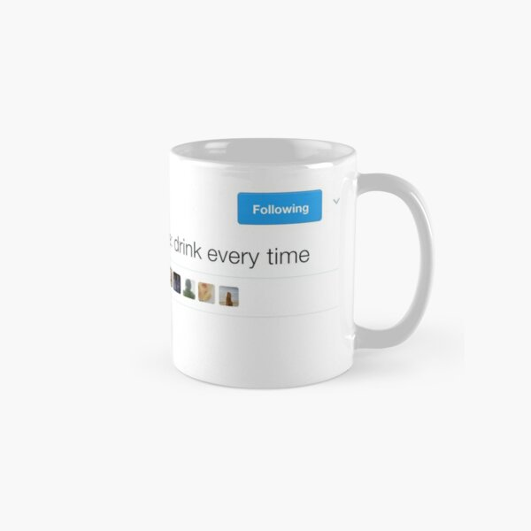 Jeu de boisson amusant Tweet Shirt Mug classique