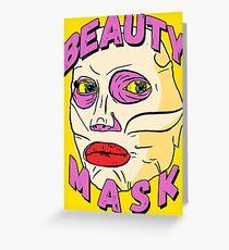 Alyssa's Beauty Mask Greeting Card