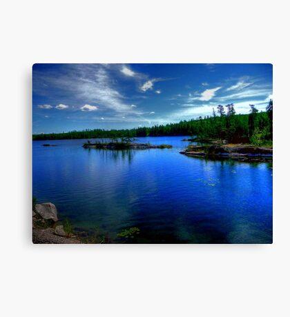 Dogtooth Lake Canvas Print