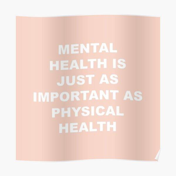 Mental Health  Poster
