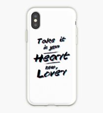 Take It In Your Heart Now, Lover iPhone Case