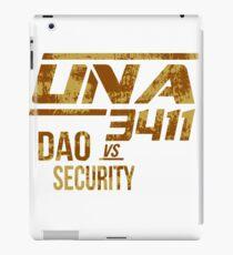 UNA Flight 3411 iPad Case/Skin