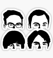 Four Faces Theory Sticker