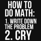 How To Do Math Write Down The Problem Cry by roderick882