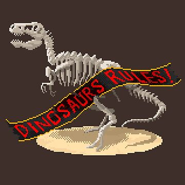 Dinosaurs Rules! by juanotron