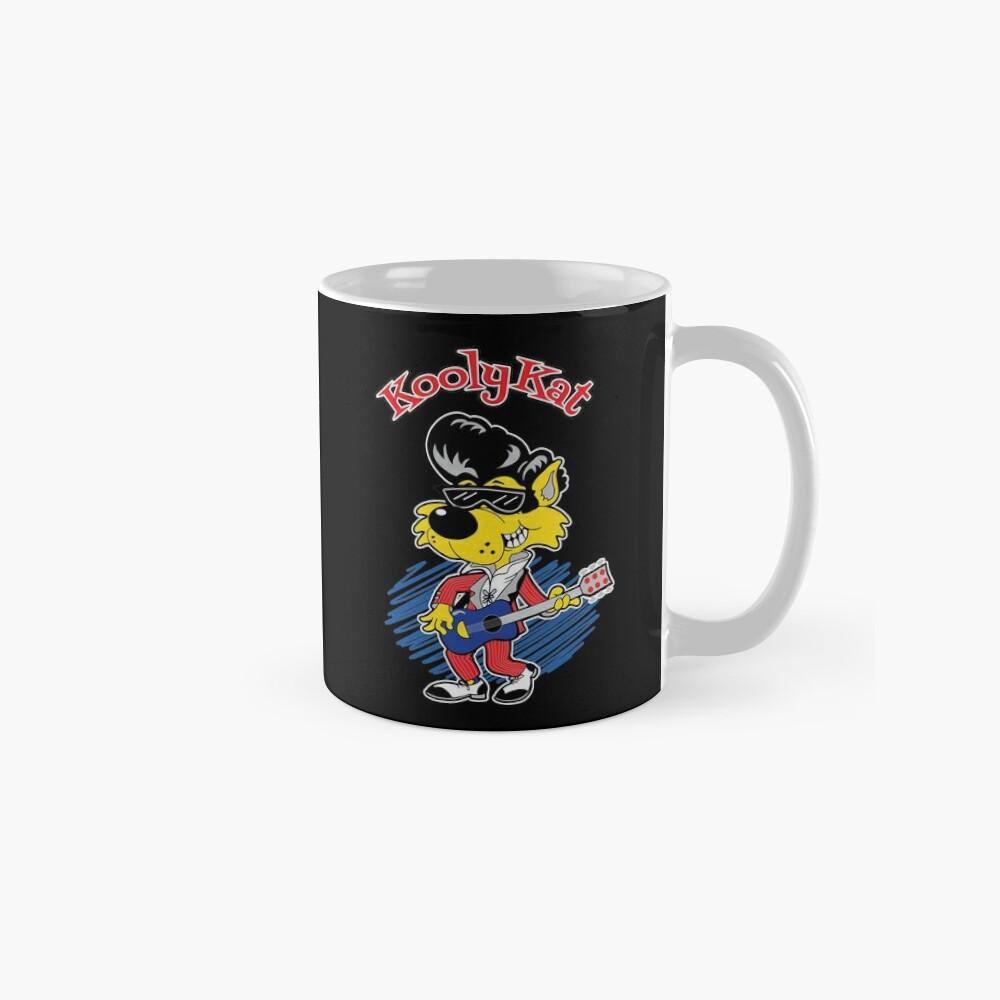 KOOLY KAT - Logo On Black Mug