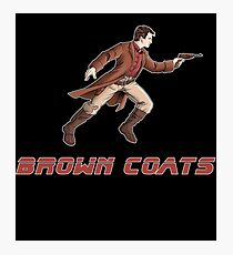 Browncoats or BladeRunners Photographic Print