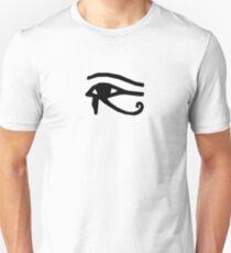 Eye of Horus - Black Unisex T-Shirt