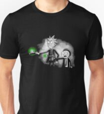 Scary Rick and Morty Unisex T-Shirt