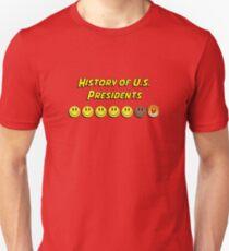 History of US presidents Unisex T-Shirt