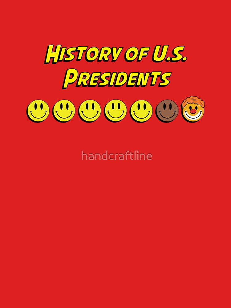 History of US presidents by handcraftline