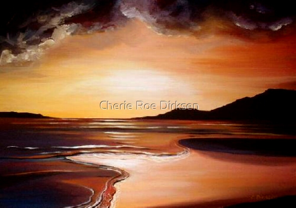 Stormy Sunset by Cherie Roe Dirksen