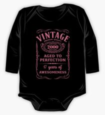 Pink Vintage Limited 2000 Edition - 17th Birthday Gift Kids Clothes
