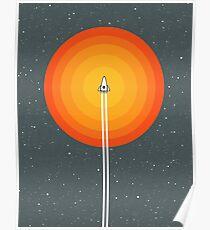 Cruising Past The Sun Poster