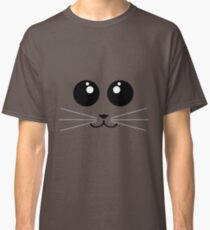 Cute Minimalistic Animal Face - All colours availible Classic T-Shirt