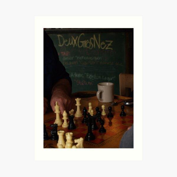 DGN Chess I Art Print